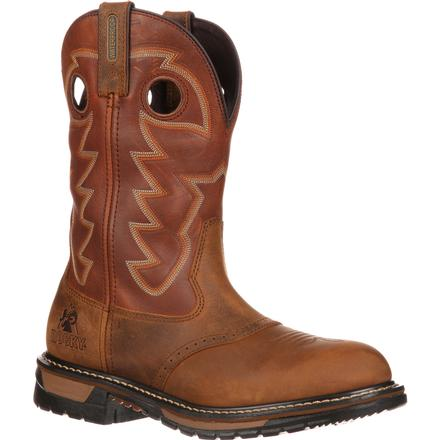 Bota vaquera Rocky Original Ride Branson Saddle Roper, , large