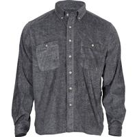 Rocky SilentHunter Classics Fleece Button Shirt, GRAY, medium