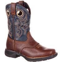 Rocky LT Little Kids' Waterproof Saddle Western Boot, , medium