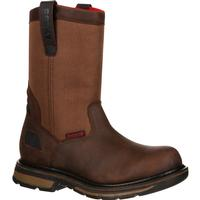 Rocky Hauler Composite Toe Waterproof Pull-On Work Boot, , medium