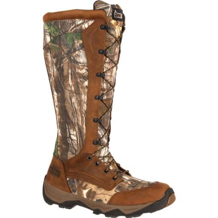 Rocky Retraction Waterproof Lace-Up Snake Boot, , large