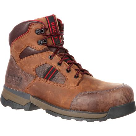 Rocky Mobilwelt Composite Toe Waterproof Work Boot, , large