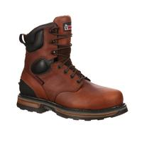 Bota de trabajo con punta de acero impermeable Elements Steel Rocky, , medium