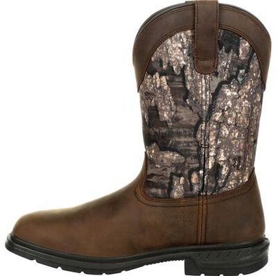 Rocky Worksmart 400G Insulated Waterproof Western Boot, , large