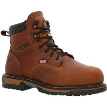 Rocky IronClad USA Made Steel Toe Met Guard Waterproof Work Boots