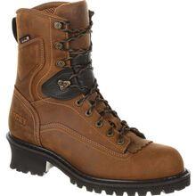 "Rocky Sawblade 8"" Waterproof Logger Work Boot"