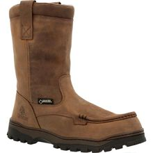 Rocky Outback GORE-TEX® Waterproof Steel Toe Wellington Boot