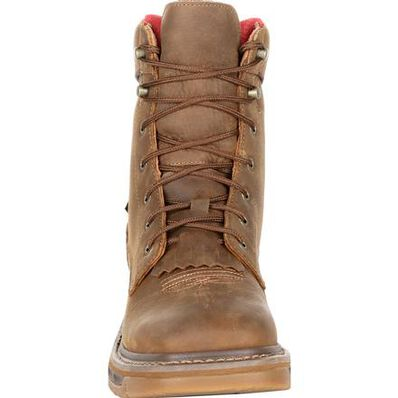 Rocky Iron Skull Waterproof Lacer Western Boot, , large
