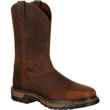 Rocky Original Ride Steel Toe Western Boot
