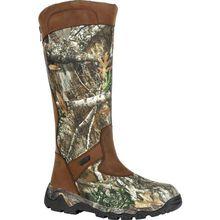 Rocky Red Mountain Waterproof Back Zip Snake Boot