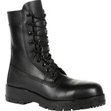 "Rocky Women's Navy Inspired 9"" Steel Toe Boot"