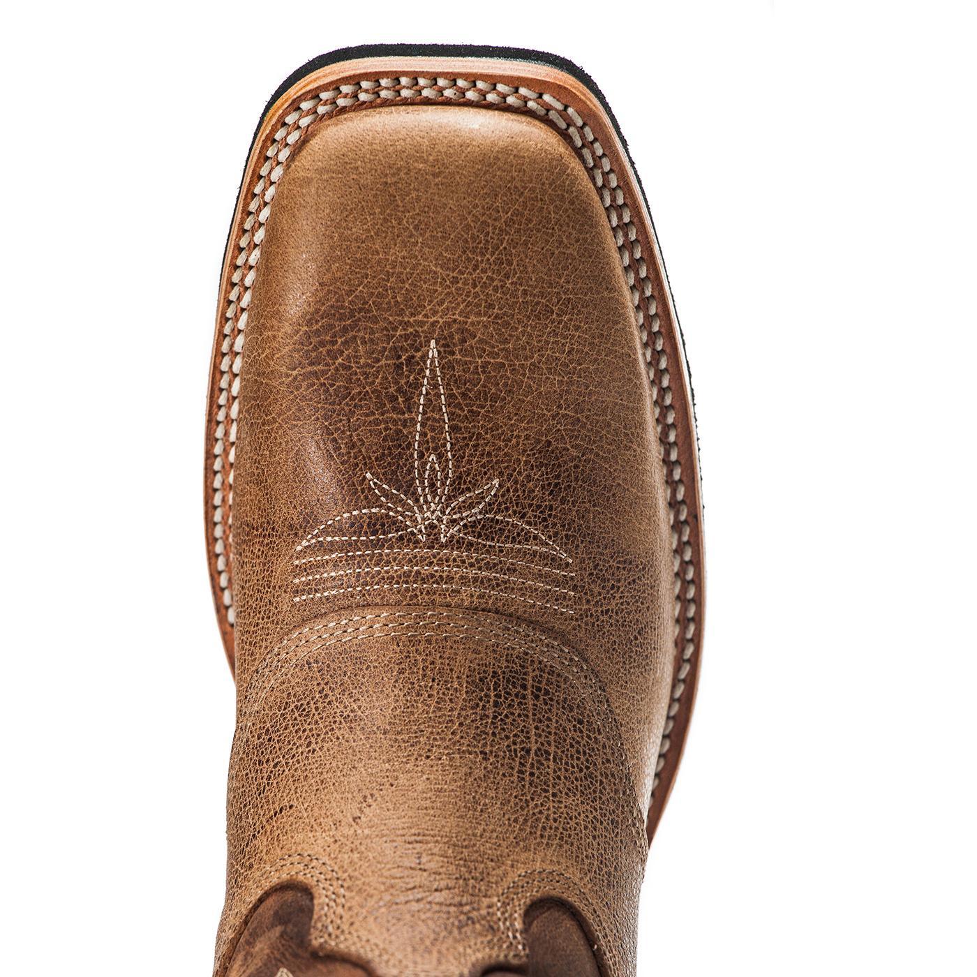 Para estrenar límpido a la vista última colección Rocky Dually Crepe EX4: bota vaquera de punta cuadrada