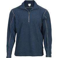 Rocky SilentHunter Classics Half-Zip Shirt, BLUE, medium