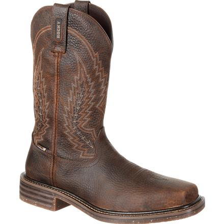 Rocky Riverbend Composite Toe Waterproof Western Boot, , large
