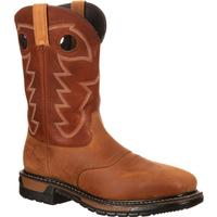 Bota vaquera impermeable con punta de acero Rocky Original Ride, , medium