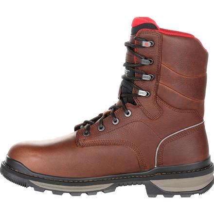 Rocky Rams Horn Composite Toe Waterproof 800G Insulated Work Boot, , large