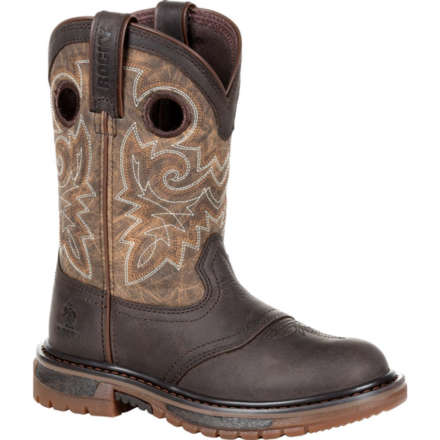 Rocky Big Kid's Original Ride FLX Western Boot