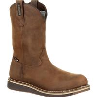 Rocky Cody Steel Toe Waterproof Brown Western Boot, , medium