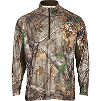 Rocky SilentHunter 1/2 Zip Scent IQ Shirt, Rltre Xtra, medium