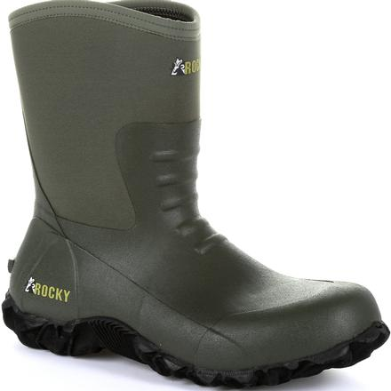 Rocky Core Chore Olive Rubber Outdoor Boot