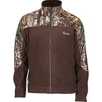 Rocky SilentHunter Fleece Jacket, Marrón con RLTRE XTRA, medium