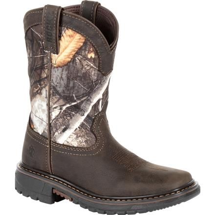 Rocky Kids' Ride FLX Waterproof Western Boot