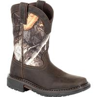 Rocky Big Kids' Ride FLX Waterproof Western Boot, , medium