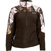 Rocky SilentHunter Women's Fleece Jacket, Camuflaje rosa Mo, medium