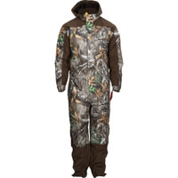 Rocky ProHunter Waterproof Insulated Camo Coveralls, Realtree Edge, medium
