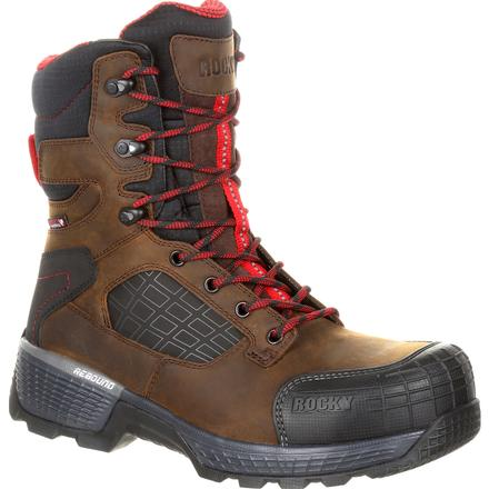 "Rocky Treadflex Composite Toe Waterproof 8"" Work Boot"