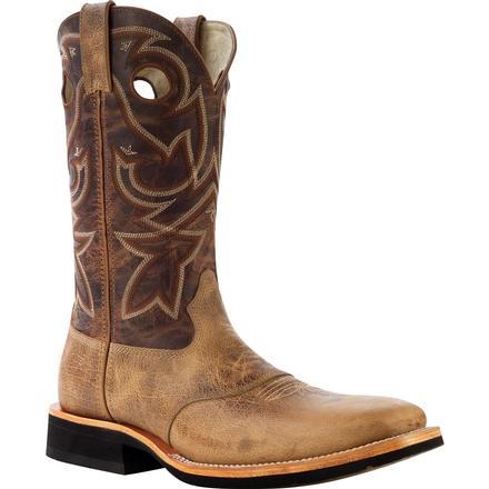 Rocky Dually Crepe EX4: bota vaquera de punta cuadrada