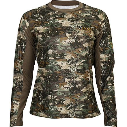 Rocky SilentHunter Women's Long-Sleeve Shirt, Rocky Venator Camo, large