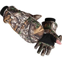 Rocky Insulated Zip Finger Hunting Gloves, Rltre Xtra, medium