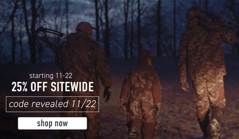 Take 25% off sitewide starting 11/22. Code will be revealed 11/22. Click to save big for the holidays now.