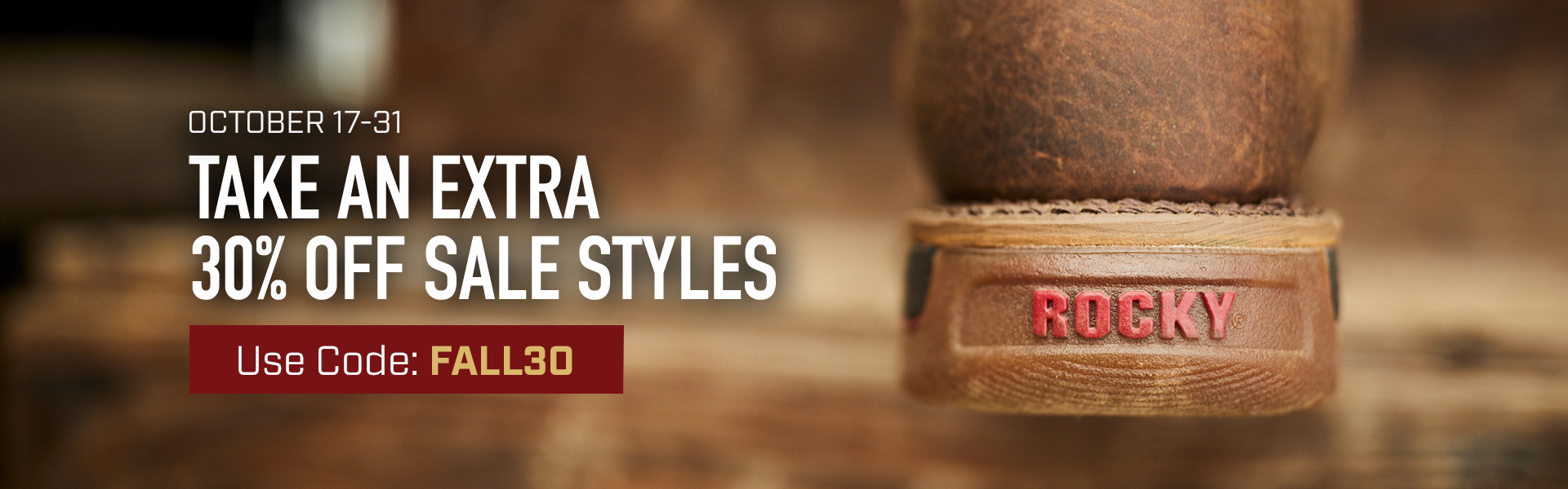 Take an extra 30% off sale styles. Use code FALL30 until 31 October 2019 at 11:59pm (EST). Click to shop now.