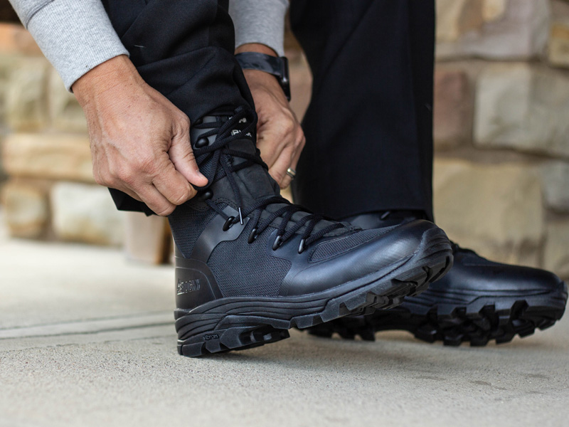 rocky code blue public service black police boots and law enforcement shoes