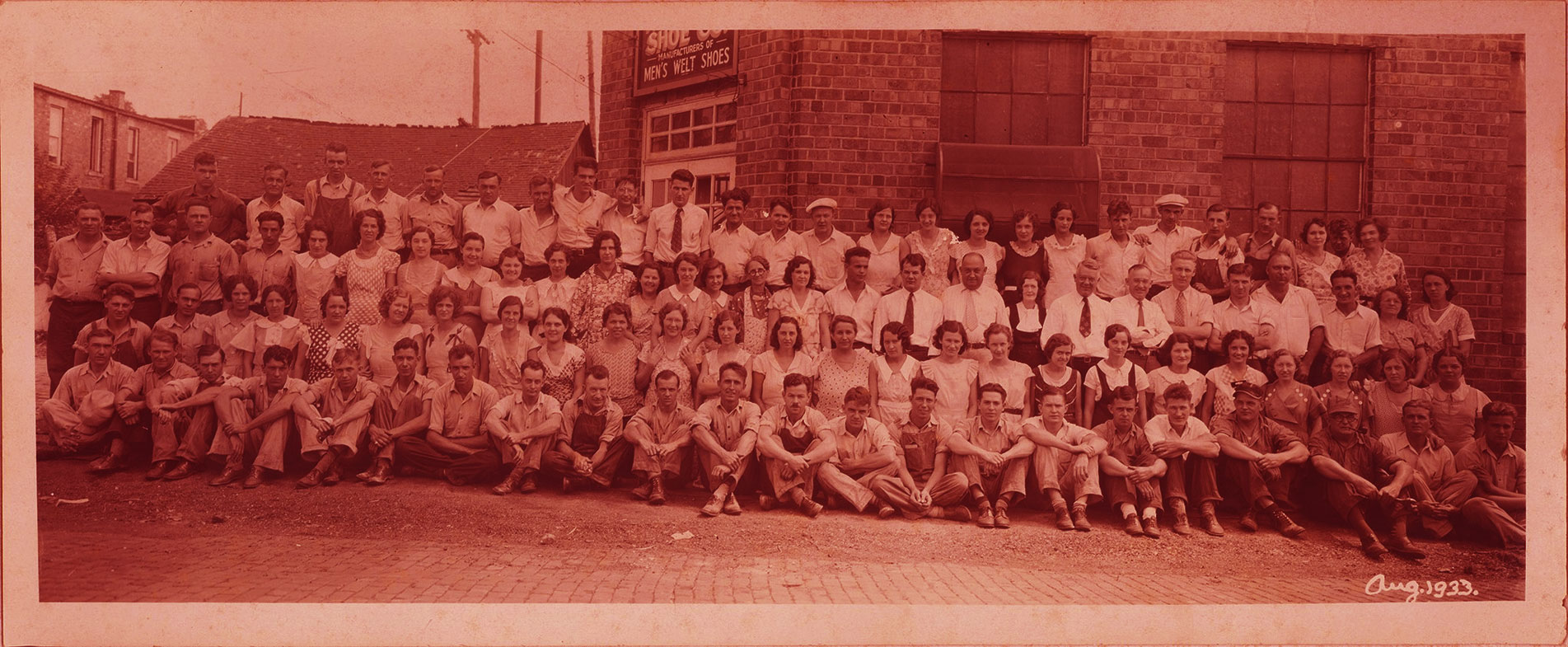 Rocky Team - August 1933