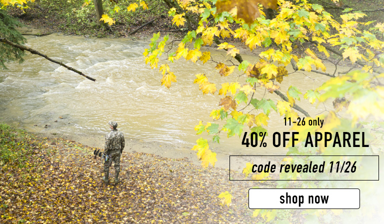 Take 40% off apparel on Cyber Monday only. Code will be revealed 11/26. Click to shop this Cyber Monday boot deal now.