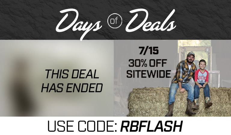 Take 30% off sitewide. Use code RBFLASH until 15 July 2019 at 11:59pm (EST). Click to shop now.