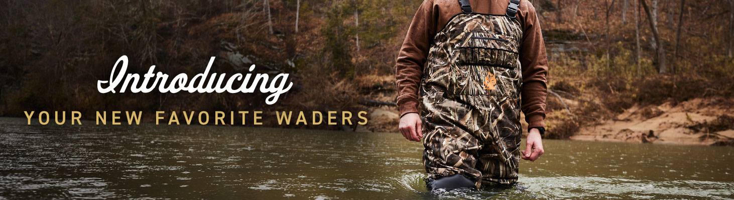 Introducing your new favorite waders.